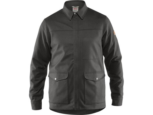 Fjällräven Greenland Camisa Chaqueta Re-Wool Hombre, grey